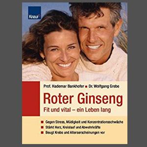 Buchcover Roter Ginseng Fit und vital ein Leben lang